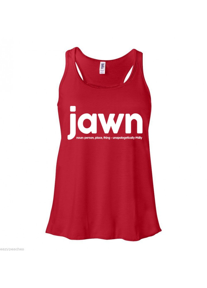 Jawn Flowy Racer Back Tank Top